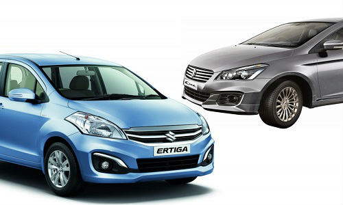 Maruti Suzuki Ciaz SHVS and Ertiga SHVS Prices Decreased in Delhi