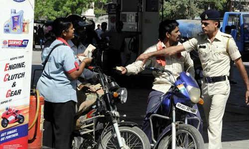 No helmet-no petrol