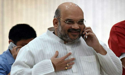 Amit Shah in Gujarat amid speculation over new CM