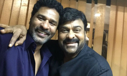 Prabhu Deva Dance Composing for Chiranjeevi 150th