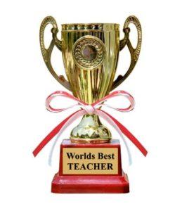 Best Teacher Trophy