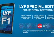 LYF F1 Launched in India: Check Specifications, Price, Features, Review