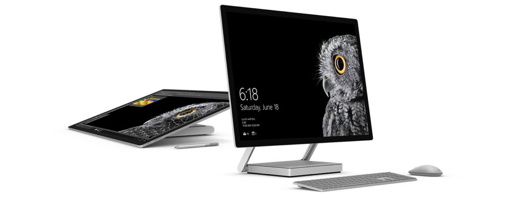 Microsoft 's First Desktop Surface Studio launched with touchscreen facility