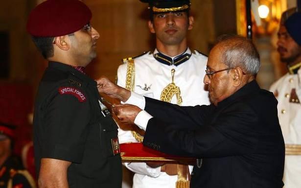 Major Rohit Suri Awarded Kirti Chakra for PoK Surgical Strikes