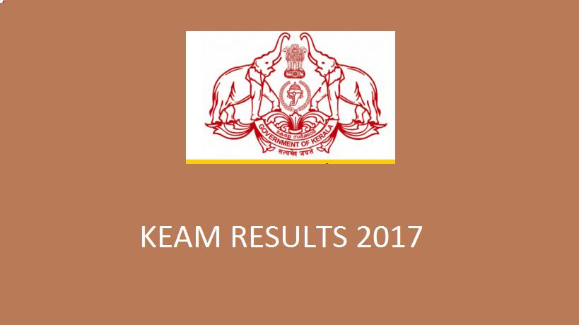 Kerala Entrance KEAM 2017 Result