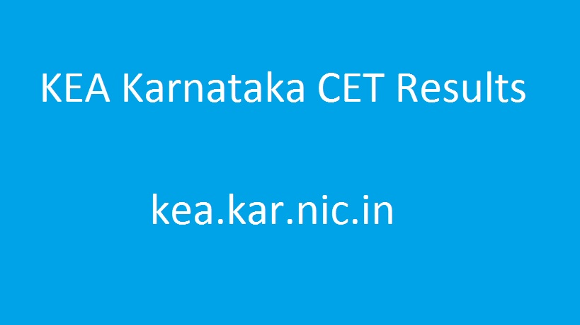 Karnataka CET Result